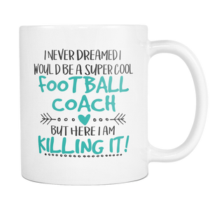 Super Football Coach Coffee Mug