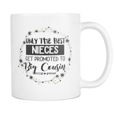 Only The Best Nieces 11 & 15oz Mug