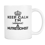 Keep Calm Nutritionist Coffee Mug