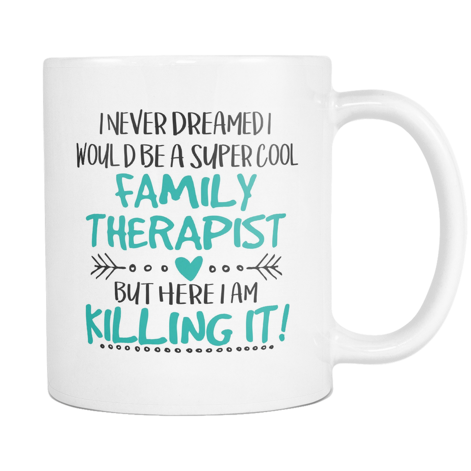 Super Cool Family Therapist Coffee Mugs