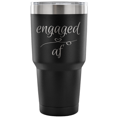 Engaged AF Travel Mug