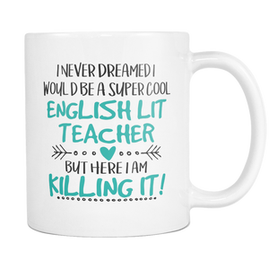 Super Cool English Lit Teacher Coffee Mug