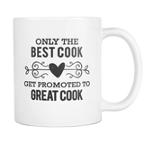 Best to Great Cook Coffee Mug