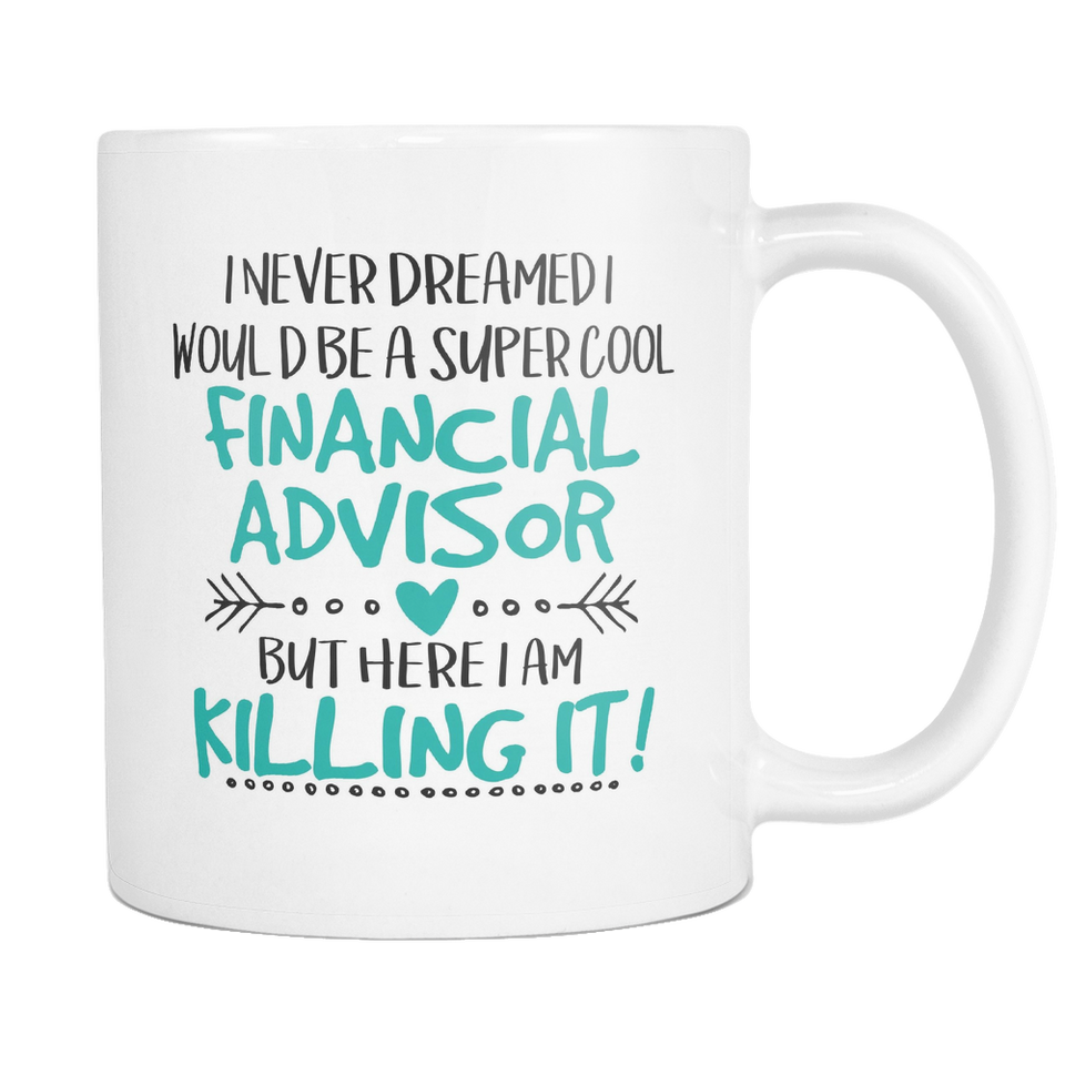 Super Cool Financial Advisor Coffee Mug
