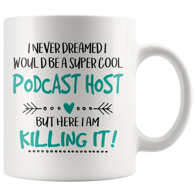 Super Cool Podcast Host