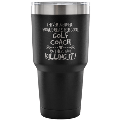 Golf Coach Travel Coffee Mug