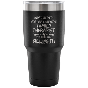 Family Therapist Travel Coffee Mug