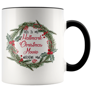 Hallmark Christmas Movie Watching Accent Mug