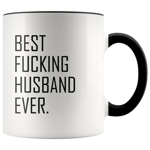 Best Fucking Husband Ever Accent Mug
