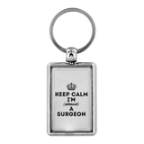Keyring keep calm surgeon