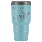 Radiologist - I can see through you travel mug
