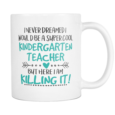Super Cool Kindergarten Teacher Coffee Mug