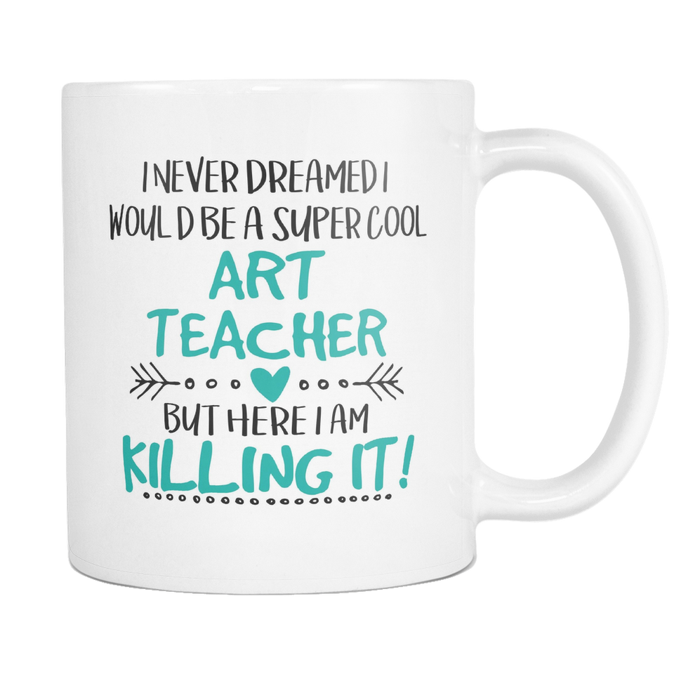 Super Cool Art Teacher Coffee Mug