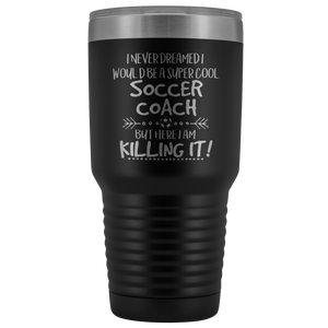 Soccer Coach Travel Mug Gift