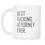 Best Fucking Attorney Mug
