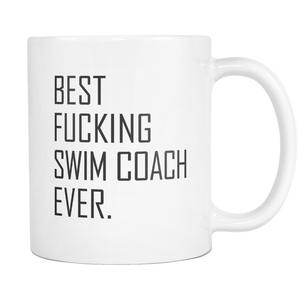 Best Fucking Swim Coach Coffee Mug