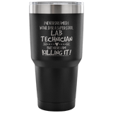 Lab Technician Travel Coffee Mug