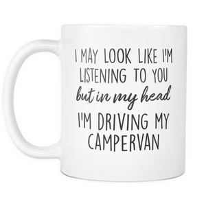 In My Head I'm Driving My Camper Mug