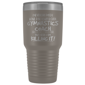Super Cool Gymnastics Coach Travel Mug