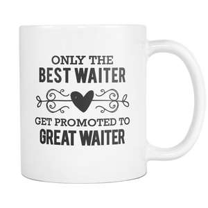Best to Great Waiter Coffee Mug