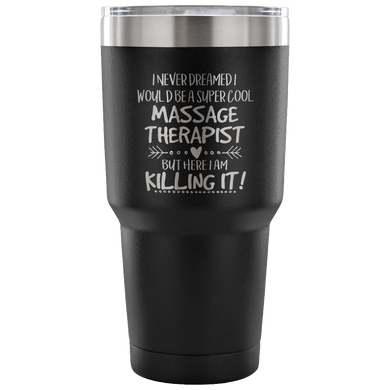 Massage Therapist Travel Coffee Mug