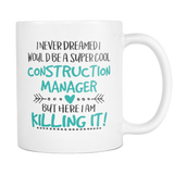 Super Cool Construction Manager Coffee Mug
