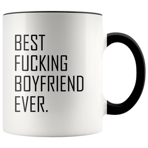 Best Fucking Boyfriend Ever Accent Mug