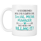 Social Media Manager Coffee Mug