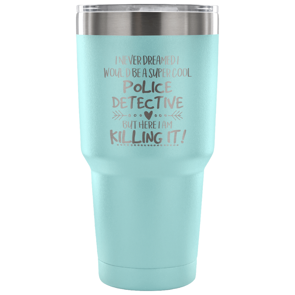 Police Detective Travel Coffee Mug