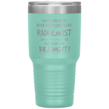 Male radiologist travel mug
