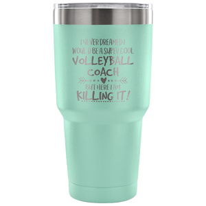 Volleyball Coach Travel Coffee Mug