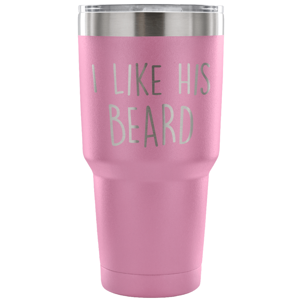 I Like His Beard Travel Mug
