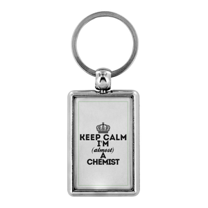 Keyring keep calm chemist