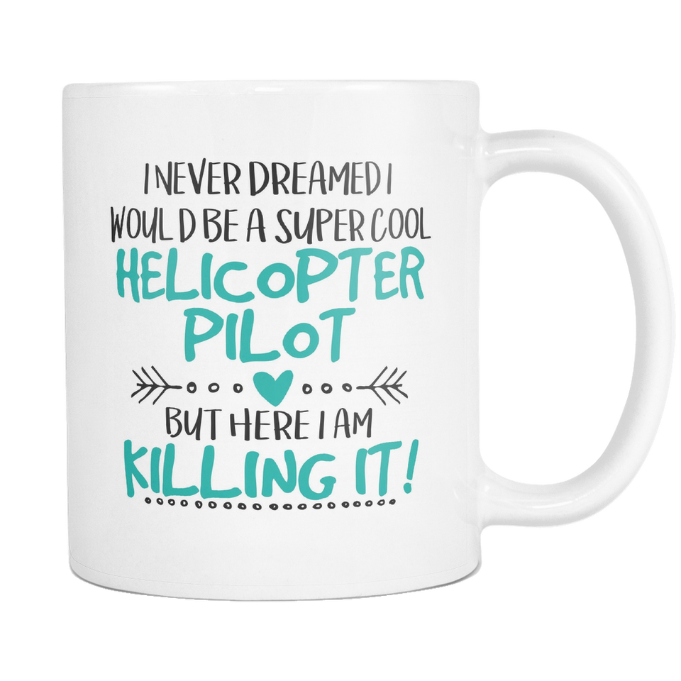 Super Cool Helicopter Pilot Coffee Mug