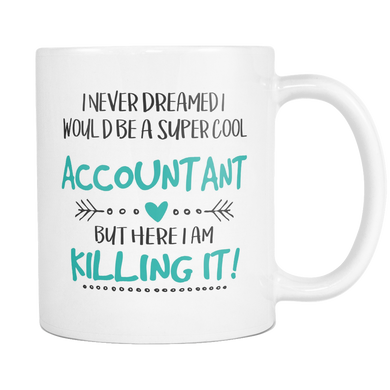 Super Cool Accountant Coffee Mug