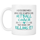 Netball Coach Coffee Mug