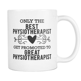 Best to Great Physiotherapist Coffee Mug