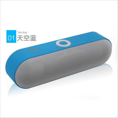 BLUETOOTH & WIRELESS SPEAKERS BLUETOOTH & WIRELESS SPEAKERS Blue Bluetooth Speakers NBY-18 Outdoor Portable Bluetooth Speaker Wireless Mini Speaker Super Bass Support TF Card USB Flash Drive