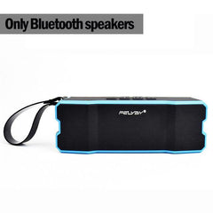 BLUETOOTH & WIRELESS SPEAKERS BLUETOOTH & WIRELESS SPEAKERS China / Blue IPX6 waterproof Portable Bluetooth speaker Outdoors and family stereo wireless speaker for phone and laptops 4500mAh large power