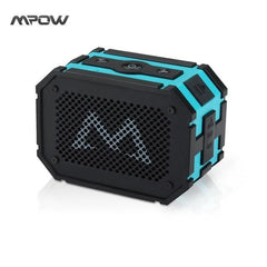 BLUETOOTH & WIRELESS SPEAKERS BLUETOOTH & WIRELESS SPEAKERS China / Blue Updated Mpow Armor Waterproof wireless Bluetooth Speaker Passive Outdoor Loudspeakers MP3 Speakers Power Bank for iPhone Xiaomi