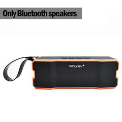 BLUETOOTH & WIRELESS SPEAKERS BLUETOOTH & WIRELESS SPEAKERS China / Orange IPX6 waterproof Portable Bluetooth speaker Outdoors and family stereo wireless speaker for phone and laptops 4500mAh large power