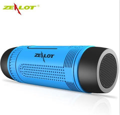 BLUETOOTH & WIRELESS SPEAKERS BLUETOOTH & WIRELESS SPEAKERS Russian Federation / Blue Zealot S1 Bluetooth Speaker Outdoor Bicycle Portable Subwoofer Bass Wireless Speakers Power Bank+LED light +Bike Mount+Carabiner