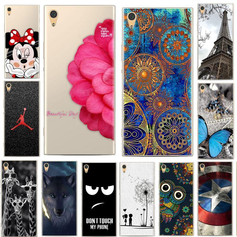Case SONY XPERIA XA1 PLUS Case SONY XPERIA XA1 PLUS Silicone Cover Animal Cartoon Phone Case For Sony XA1 Plus