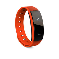 Health Bracelet Sport Health Bracelet Sport Orange Heart Rate Blood Oxygen Exercise Health Smart Watch Bracelet