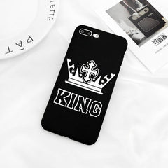 Phone Accessories Case 0005 / For iPhone 5 5s SE Luxury King Queen Case For iPhone x,8 ,8 Plus,7,7 Plus,6,6s,5s