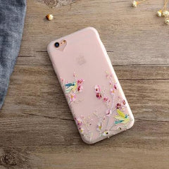 Phone Accessories Case 2 / For iPhone 6Plus 6SP Phone Case For iPhone  SE  New Spring Blossoms Magpie Animal Cartoon Frosted Soft