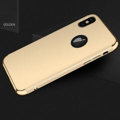 Phone Accessories Case gold / for iphone x Luxury hard plastic case for iphone X