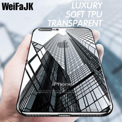 Phone Accessories Case Luxury Phone Bags Case for iPhone  7 Plus,Cover Fashion TPU Transparent Soft Silicone Full Covers