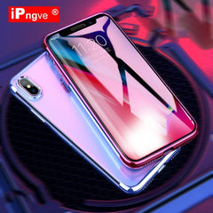 Phone Accessories Case Transparent Silicon Phone Cases Electroplating For iPhone 7 plus