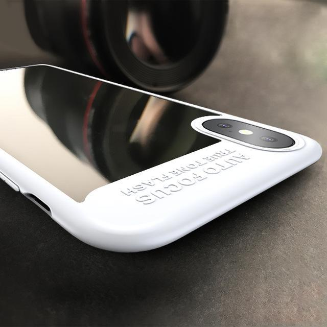 Phone Accessories Case White / PC + TPU Phone Case For iPhone X Thin Phone Luxury Fashion PC+TPU Hybrid Armor